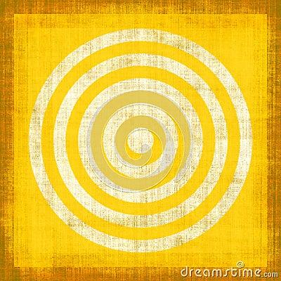 Yellow Grunge Target