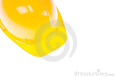 Yellow Hardhat And Copy Space
