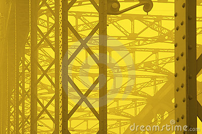Yellow industial background