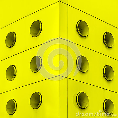 Free Yellow Interior Architecture Abstract Dirt Vents. Royalty Free Stock Images - 27681429