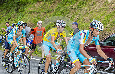The Yellow Jersey - Vincenzo Nibali Editorial Photography