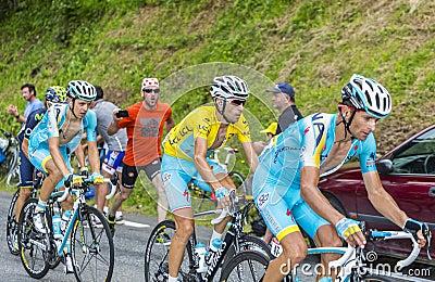 The Yellow Jersey - Vincenzo Nibali Editorial Photography