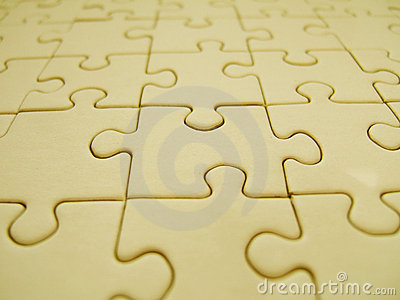 Yellow jigsaw