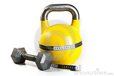 Yellow Kettlebell