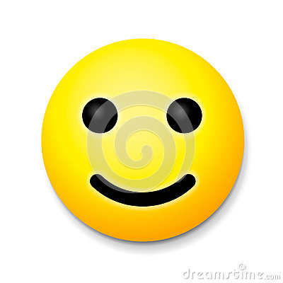 yellow laughing happy smile emoji smile symbol stock