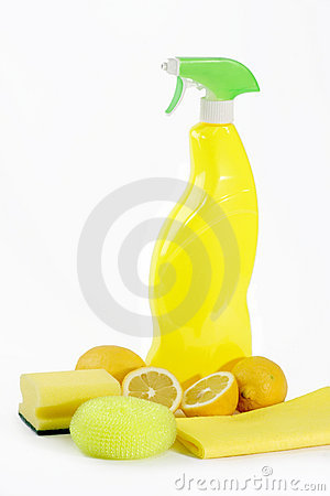 Yellow Lemon Cleaner