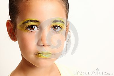 Yellow Make-up