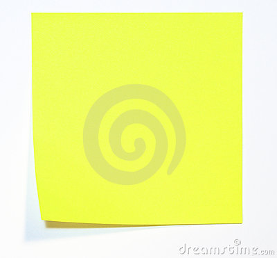 Yellow Memo