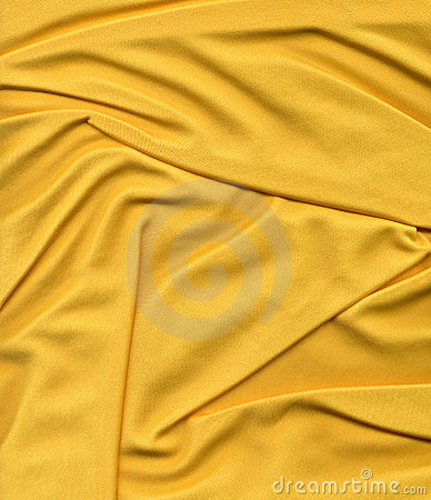 Yellow mesh fabric