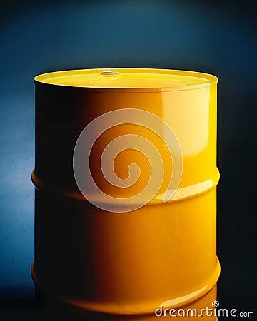 Yellow Metal Barrel