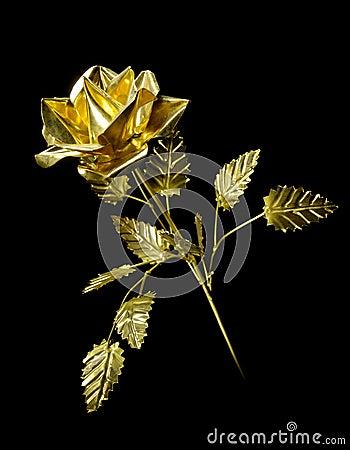 Free Yellow Metal Rose Royalty Free Stock Photos - 20944198