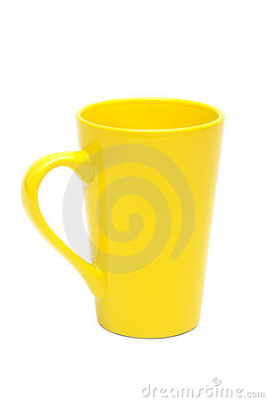 Free Yellow Mug Royalty Free Stock Photos - 16309248