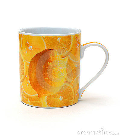 Free Yellow Mug Royalty Free Stock Photography - 7880387