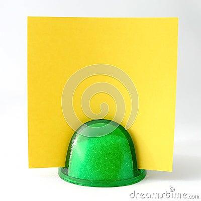 Free Yellow Note Stock Image - 623621