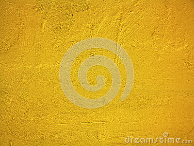 Wall Of Light Orange Yellow : Yellow Paint Wall Background Or Texture Stock Images - Image: 31754424