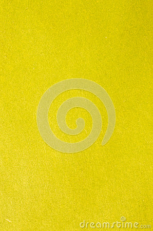 Yellow paper or plaster