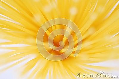 Yellow pastry blur