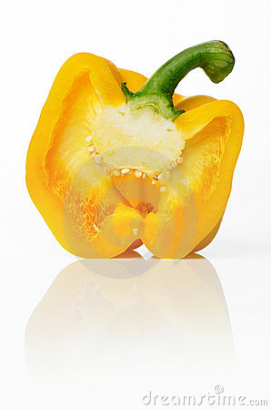 Free Yellow Pepper Royalty Free Stock Images - 3509889