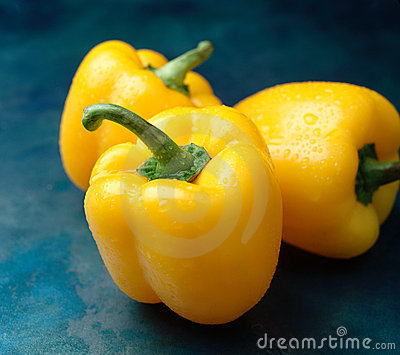 Yellow Peppers Stock Image - Image: 14193441