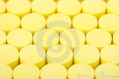 Yellow pills