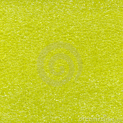 Yellow plastic foam texture