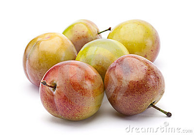 Yellow plum fruit