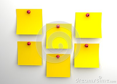 Yellow post it