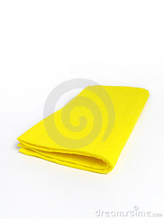 Free Yellow Rag Stock Photo - 4697740
