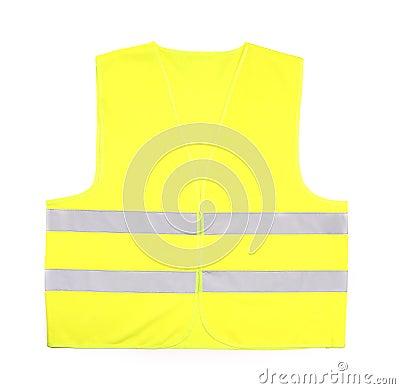 Yellow rescue vest