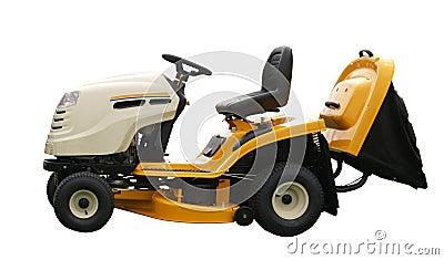 Yellow Ride-on Mower