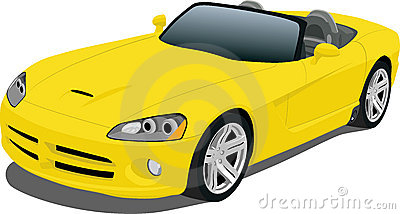 Yellow Roadster