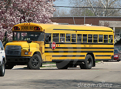 Yellow school bus