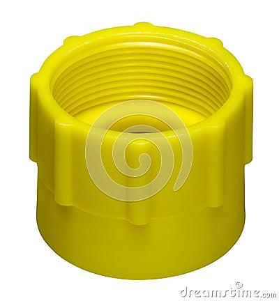 Yellow screw cap
