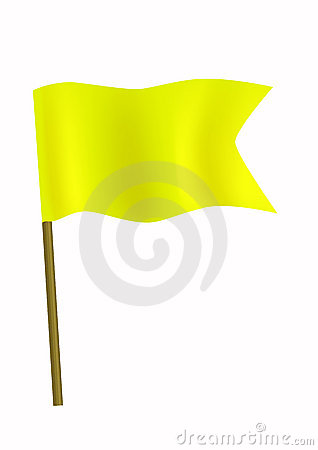 Yellow Small Flag