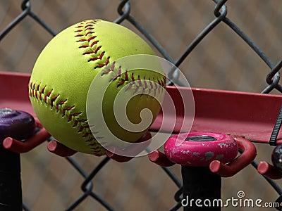 Yellow Softball