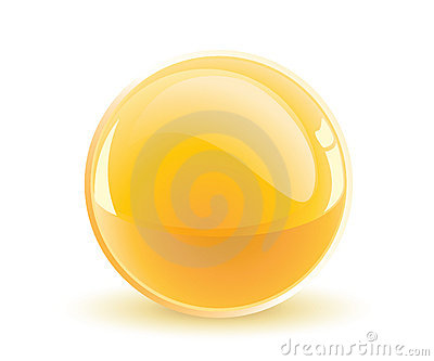 Yellow Sphere Stock Images - Image: 8363914