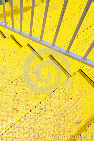 Yellow  stair