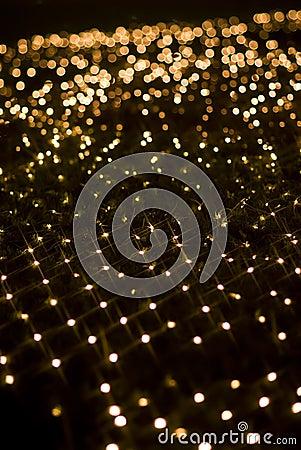 Free Yellow Star Shape Light Effect Stock Photo - 13869830