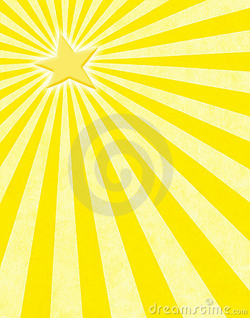 Yellow Star Sunbeams