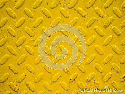 Yellow steel background