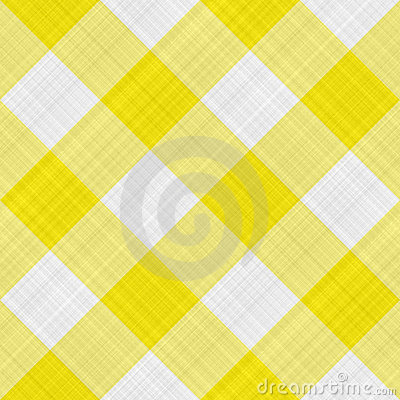Yellow table cloth