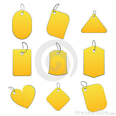 Yellow tags