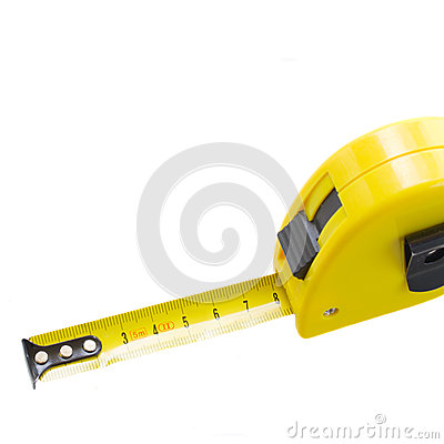 Free Yellow Tape Measure Close Up Stock Photography - 34679912