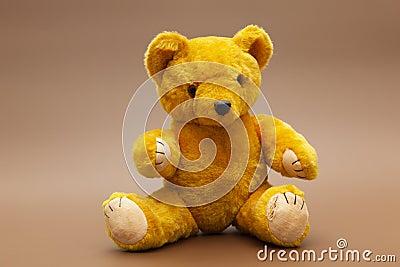 Yellow teddybear