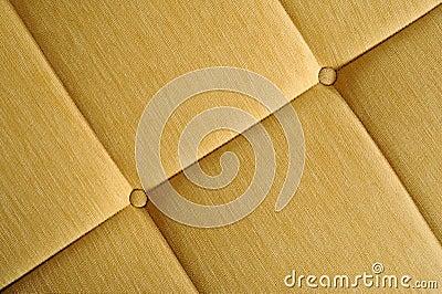 Yellow upholstery
