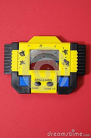 Yellow Vintage Videogame