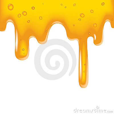 Yellow viscous liquid