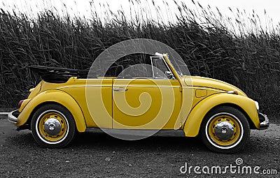 Yellow VW