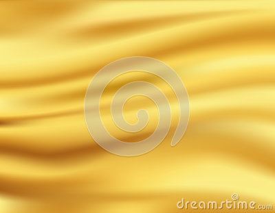 Yellow waves background