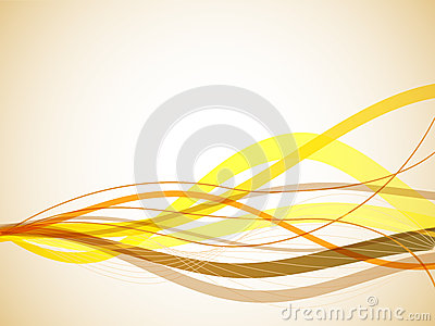 Yellow wavy background.